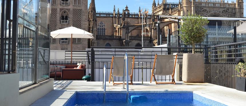 Jacuzzi Exterior Sevilla.Sevilla 5 Star Hotels Luxury Hotels Sevilla 5 Star Hotel