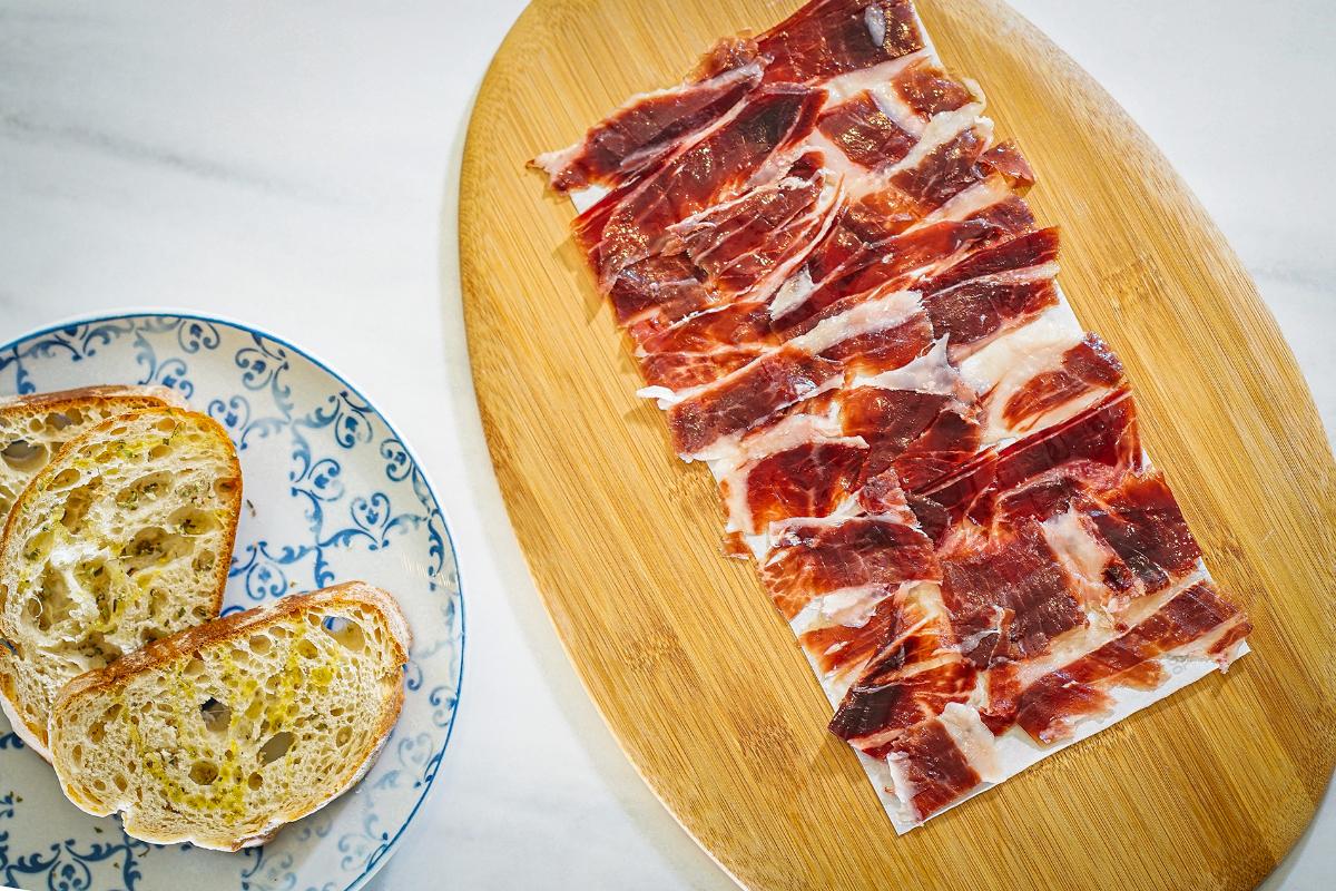 AL LADO Restaurant, Acorn-fed Iberian ham
