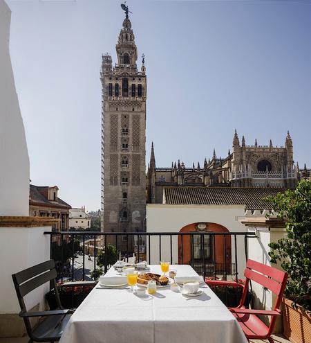 Petit-déjeuner en chambre au EME Catedral Mercer Hotel